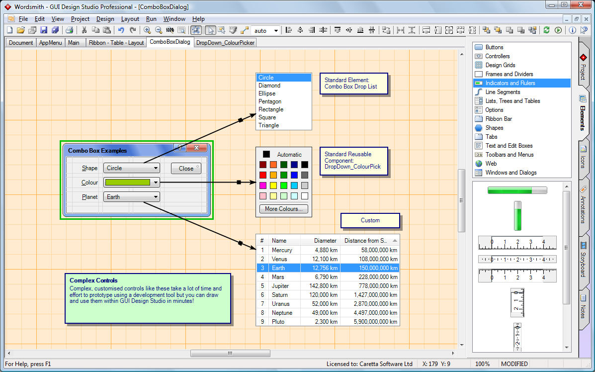 Gui Design Studio 4 3 Released Caretta Software Blog