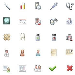 Medical Icons Icons