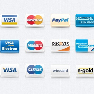 Payment Method Set Vol 1 Icons
