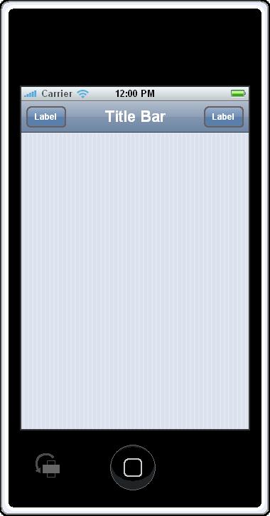 Gui Design Gallery Iphone Contacts Application Caretta Software
