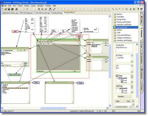GUI Design Studio v2.0.47.0برنامج لتصميم واجهات