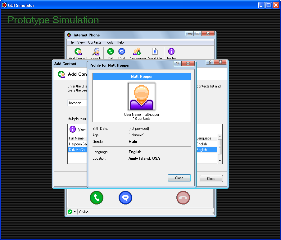 Voip Application Simulation